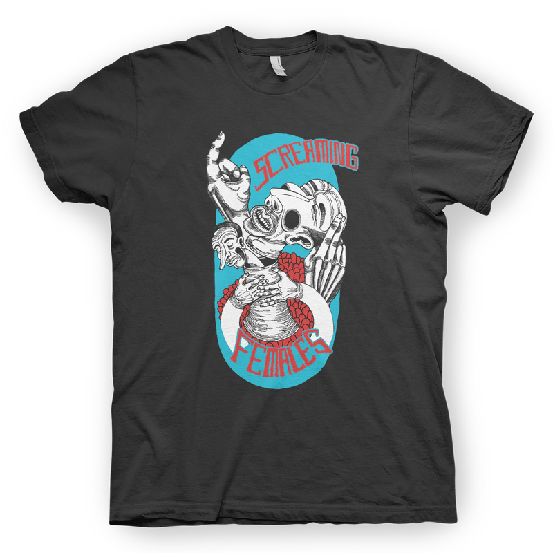 Screaming Females Strangler T-Shirt- Bingo Merch Official Merchandise Shop Official