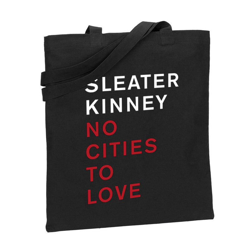 Sleater Kinney No Cities To Love Totebag Totebag- Bingo Merch Official Merchandise Shop Official