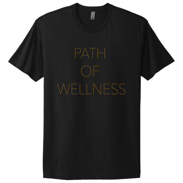 (PRE-ORDER) Path Of Wellness T-Shirt - Black