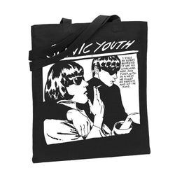 Sonic Youth Black Goo Totebag Totebag- Bingo Merch Official Merchandise Shop Official