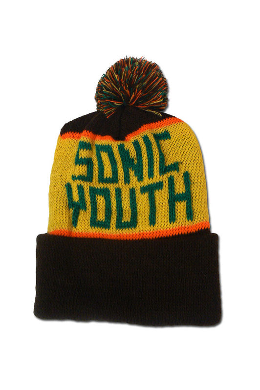 Sonic Youth Knit Hat Hat- Bingo Merch Official Merchandise Shop Official