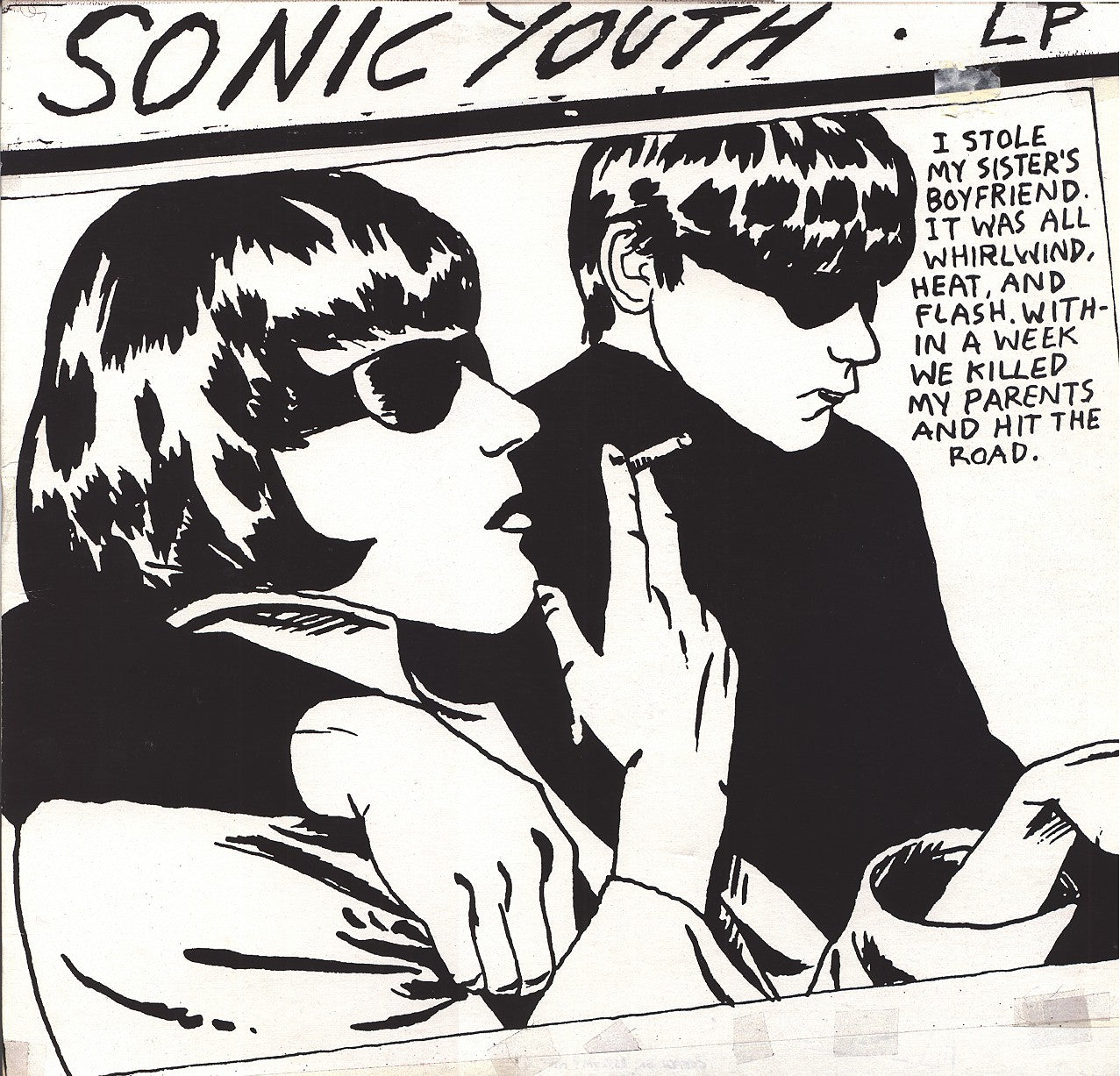 Sonic Youth Goo LP LP- Bingo Merch Official Merchandise Shop Official