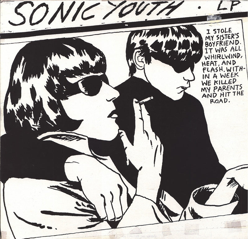 Sonic Youth Goo CD CD- Bingo Merch Official Merchandise Shop Official