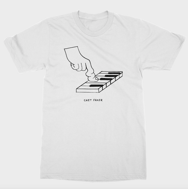 (PRE-ORDER) Bend Tee White