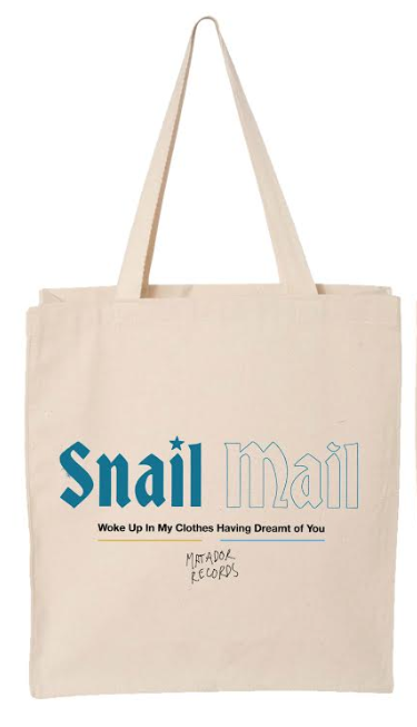 Snail Mail Heat Wave Totebag - Bingo Merch Official Merchandise Shop Official