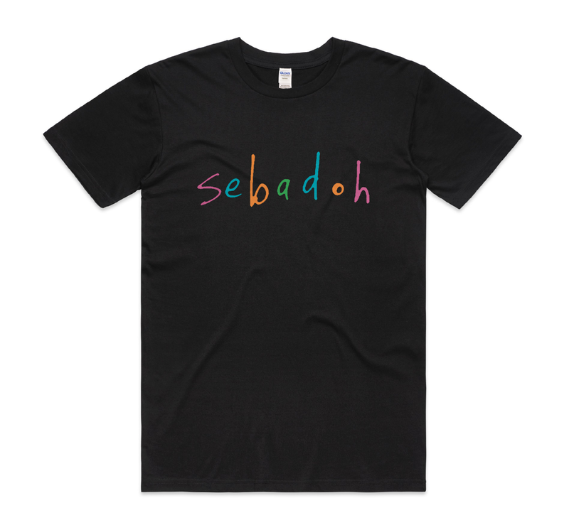 Sebadoh Sebadoh Logo T-Shirt- Bingo Merch Official Merchandise Shop Official