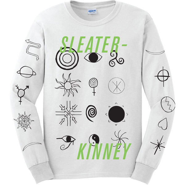 Sleater Kinney Collage Longsleeve Longsleeve- Bingo Merch Official Merchandise Shop Official