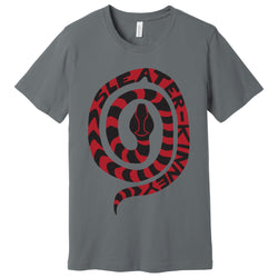 Sleater Kinney Snake Grey T-Shirt- Bingo Merch Official Merchandise Shop Official
