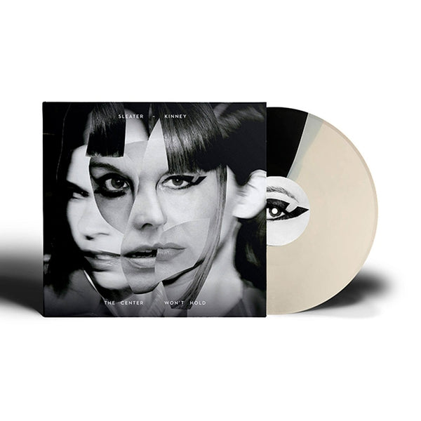 Sleater Kinney The Center Won't Hold Black / Cream LP LP- Bingo Merch Official Merchandise Shop Official
