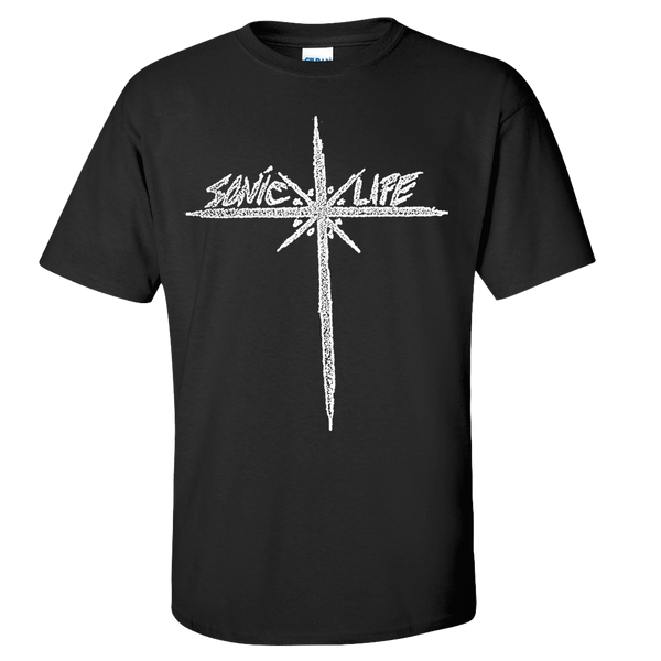 Sonic Youth Sonic Life T-Shirt- Bingo Merch Official Merchandise Shop Official