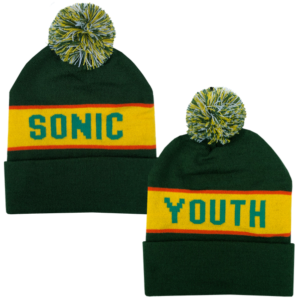 Knit Hat - Green
