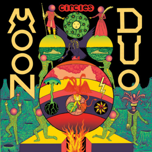 Moon Duo Circles LP LP- Bingo Merch Official Merchandise Shop Official