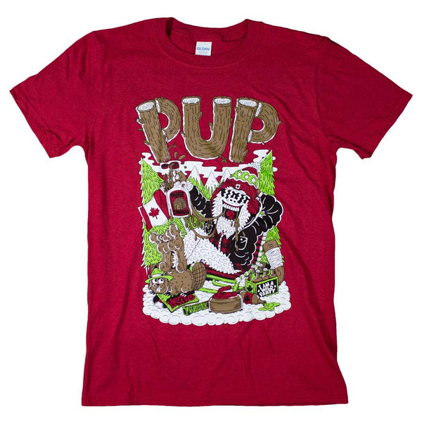 PUP Squatch Watch T-Shirt- Bingo Merch Official Merchandise Shop Official