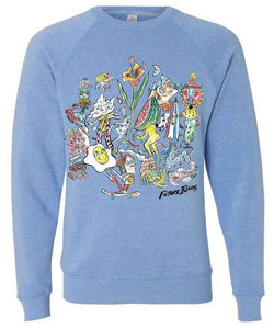 Future Islands Russ-Sweatshirt Sweatshirt- Bingo Merch Official Merchandise Shop Official