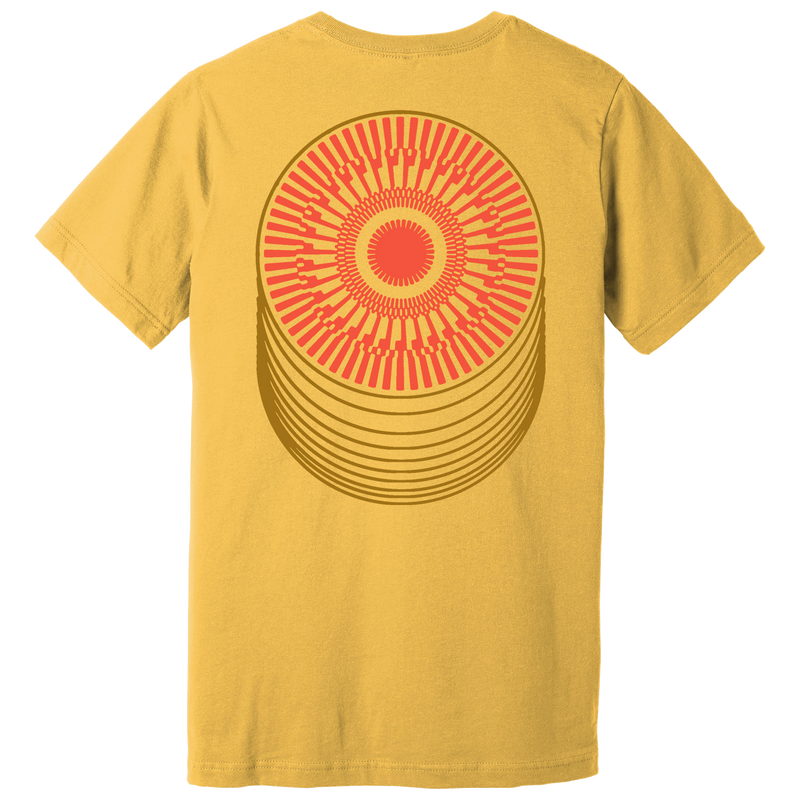 Tame Impala About Rounds Maize T-Shirt- Bingo Merch Official Merchandise Shop Official