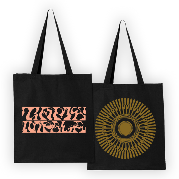 Tame Impala About Rounds Totebag Totebag- Bingo Merch Official Merchandise Shop Official