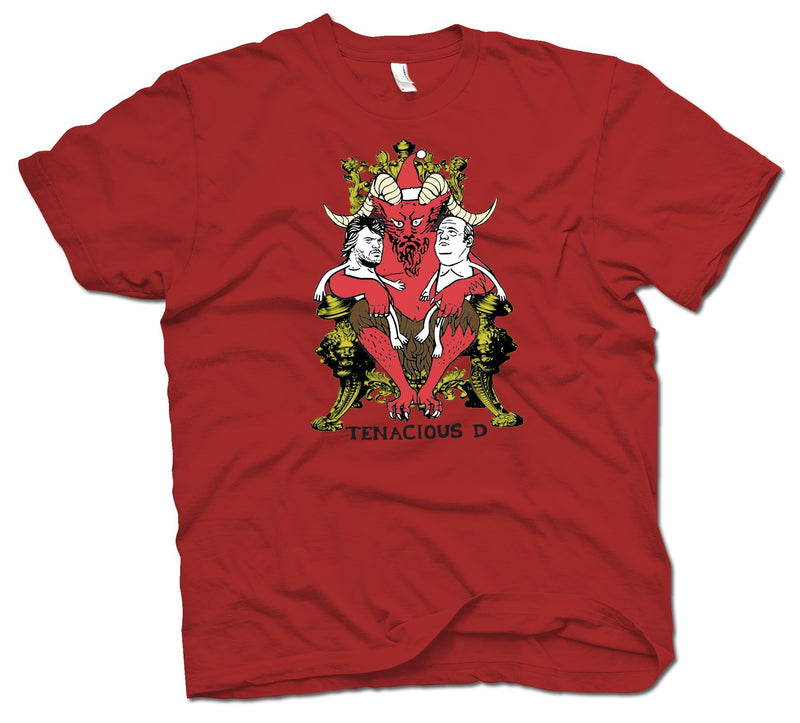 Tenacious D Santa T-Shirt- Bingo Merch Official Merchandise Shop Official