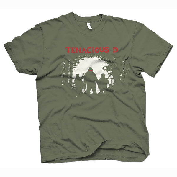Tenacious D Sasquatch T-Shirt- Bingo Merch Official Merchandise Shop Official