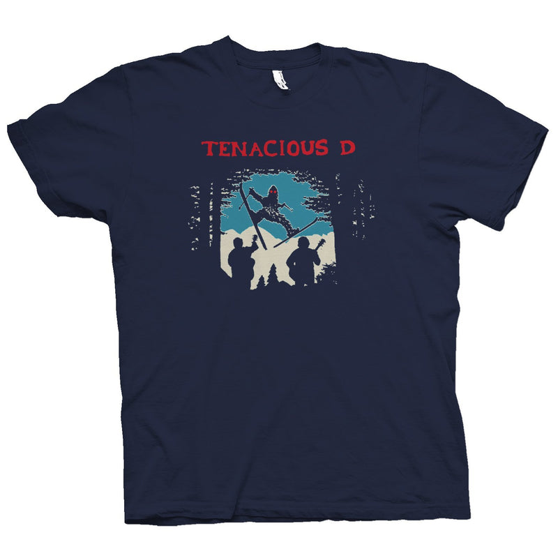 Tenacious D Skiing Sasquatch T-Shirt- Bingo Merch Official Merchandise Shop Official