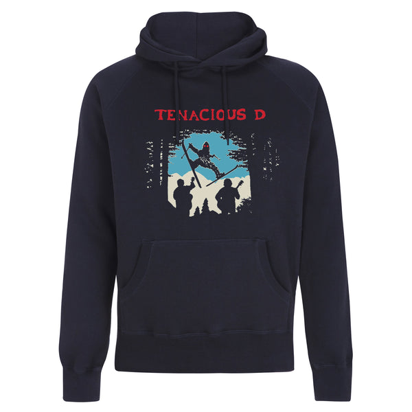 Tenacious D Skiing Sasquatch - hoodie Hoodie- Bingo Merch Official Merchandise Shop Official