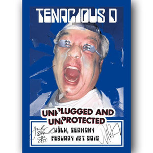 Tenacious D 2015 Tour Poster (SIGNED) Poster- Bingo Merch Official Merchandise Shop Official