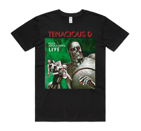 Tenacious D Robot T-Shirt- Bingo Merch Official Merchandise Shop Official