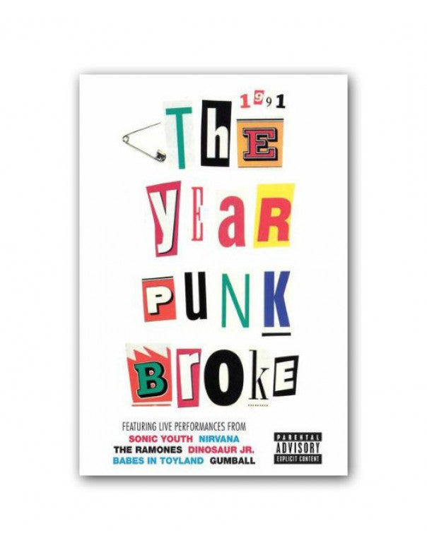 Sonic Youth The Year That Punk Broke DVD DVD- Bingo Merch Official Merchandise Shop Official
