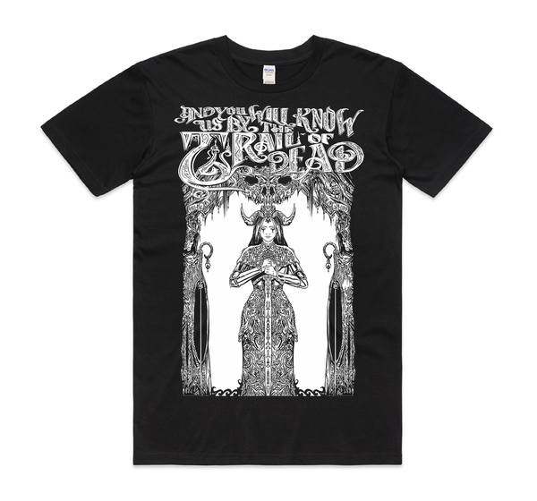 ...And You Will Know Us By The Trail Of Dead Morgan Le Fay T-Shirt- Bingo Merch Official Merchandise Shop Official