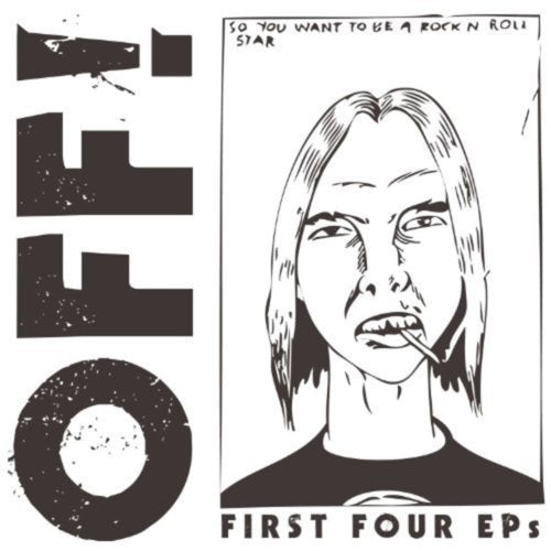 OFF! First Four EPs CD CD- Bingo Merch Official Merchandise Shop Official