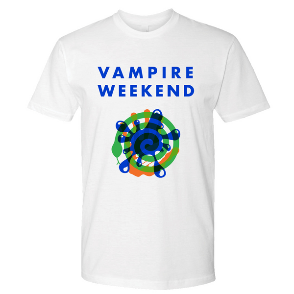 Vampire Weekend Trifecta T-shirt T-Shirt- Bingo Merch Official Merchandise Shop Official
