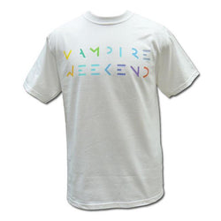 Vampire Weekend Multicolored Logo - Bingo Merch Official Merchandise Shop Official