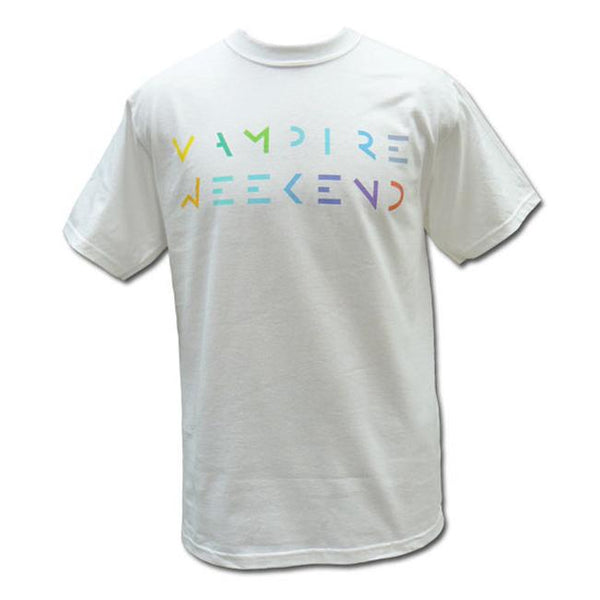Vampire Weekend Mulitcolored Logo - Bingo Merch Official Merchandise Shop Official