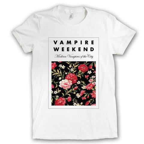 Vampire Weekend Floral - girls - Bingo Merch Official Merchandise Shop Official