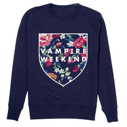 Vampire Weekend Shield Crewneck - Bingo Merch Official Merchandise Shop Official