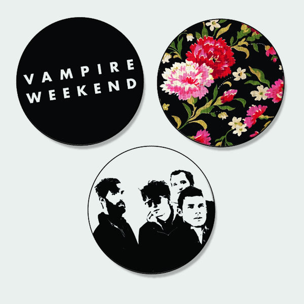 Vampire Weekend Button Pack - Bingo Merch Official Merchandise Shop Official