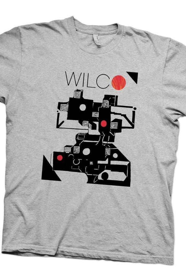 Wilco The Whole Love Tour T-Shirt T-Shirt- Bingo Merch Official Merchandise Shop Official