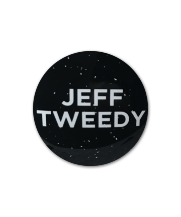 Jeff Tweedy Jeff Tweedy Glow In The Dark Pin Pin Badge- Bingo Merch Official Merchandise Shop Official