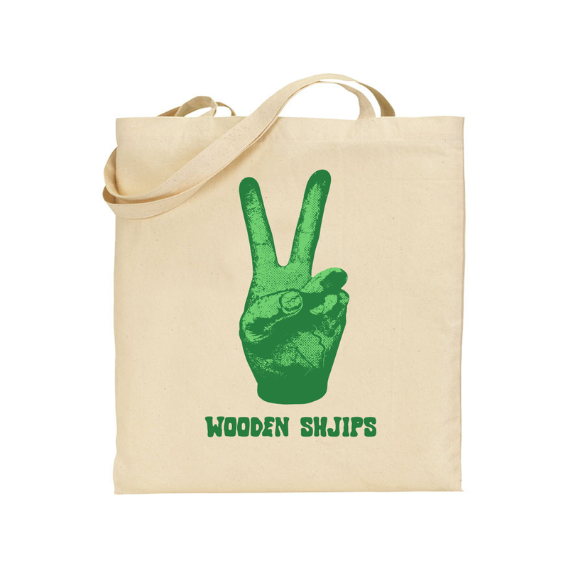 Wooden Shjips V Totebag Totebag- Bingo Merch Official Merchandise Shop Official