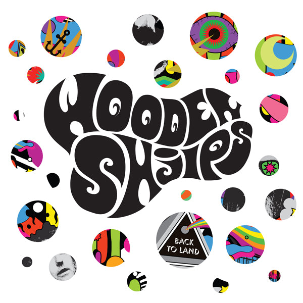 Wooden Shjips Back To Land LP LP- Bingo Merch Official Merchandise Shop Official
