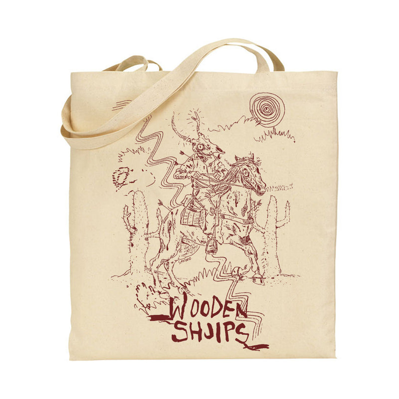 Wooden Shjips Horseman Totebag Totebag- Bingo Merch Official Merchandise Shop Official