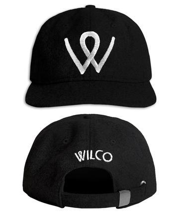 Wilco W Hat Black Hat- Bingo Merch Official Merchandise Shop Official