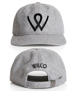 Wilco W Hat Grey Hat- Bingo Merch Official Merchandise Shop Official