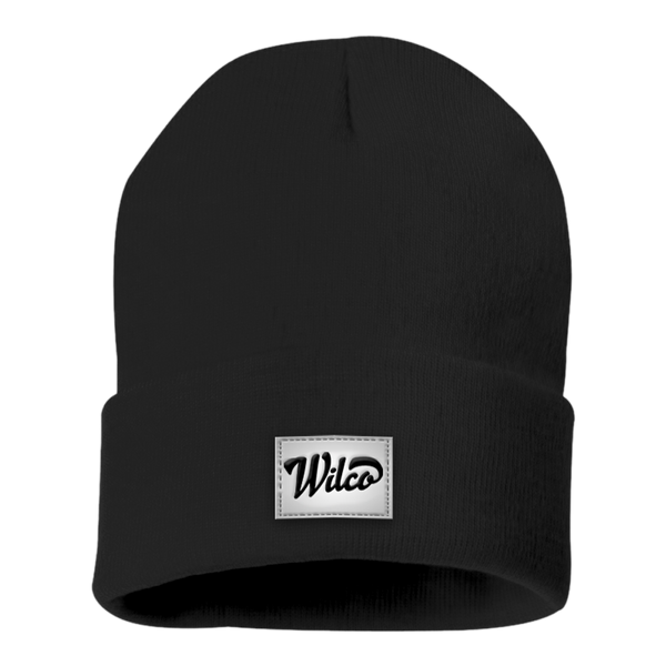 Wilco Winter Knit Hat Black Hat- Bingo Merch Official Merchandise Shop Official