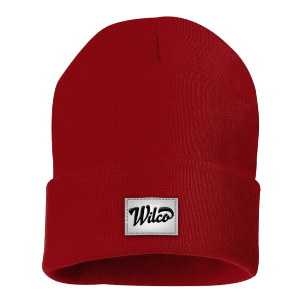 Winter Knit Hat Red