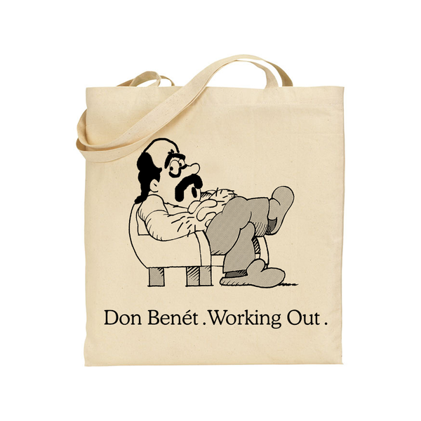 Donny Benét Working Out Totebag Totebag- Bingo Merch Official Merchandise Shop Official