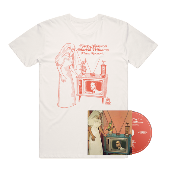 (PRE-ORDER) Plastic Bouquet CD and T-Shirt Bundle