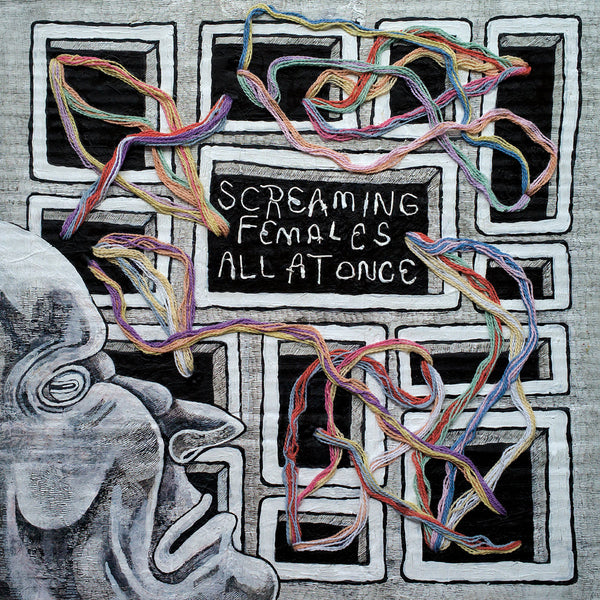 Screaming Females All At Once LP LP- Bingo Merch Official Merchandise Shop Official