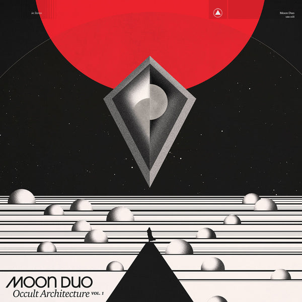 Moon Duo Occult Architecture Vol. 1 LP LP- Bingo Merch Official Merchandise Shop Official