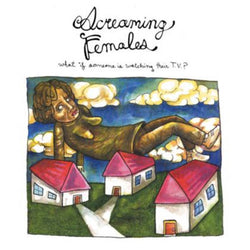 Screaming Females What If Someone Is Watching Their TV? LP LP- Bingo Merch Official Merchandise Shop Official