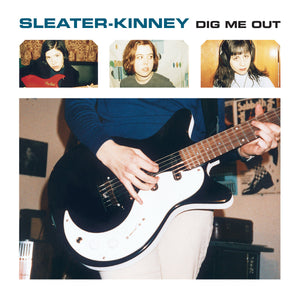 Sleater Kinney Dig Me Out LP LP- Bingo Merch Official Merchandise Shop Official